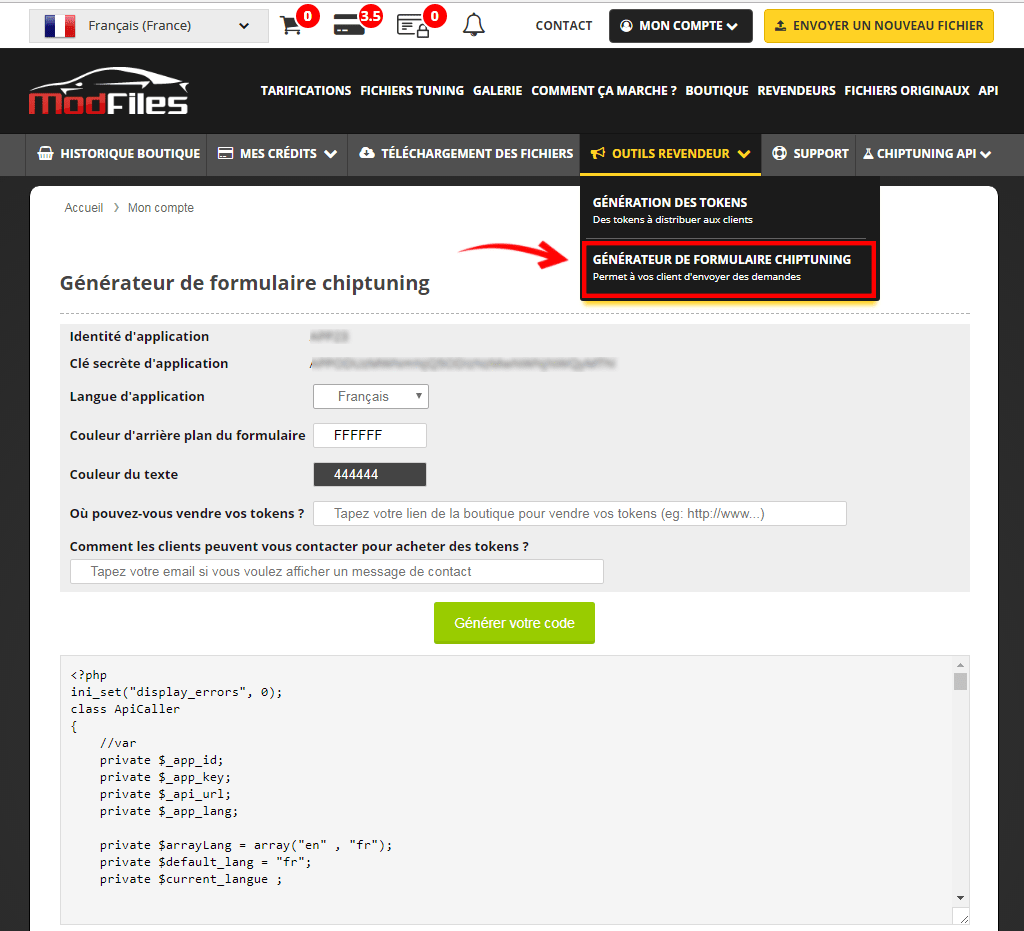mod-files tuning files - resellers - generator chiptuning form
